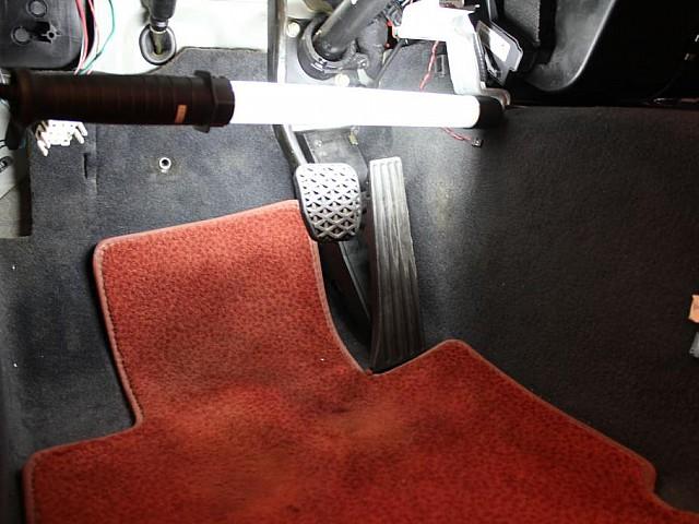 z3 throttle mounted